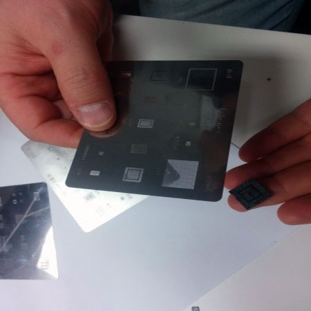 smartphone soldering