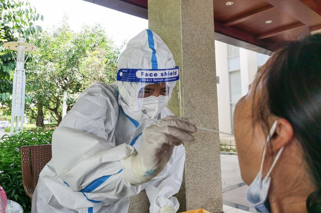 Facial recognition tech fights coronavirus in Chinese city