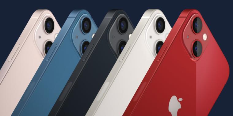 Apple announces iPhones 13 in four flavors: mini, regular, Pro, and Pro Max